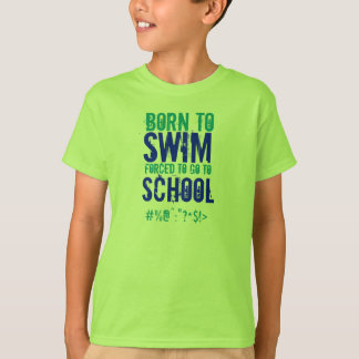 Camiseta Llevado nadar - a niños