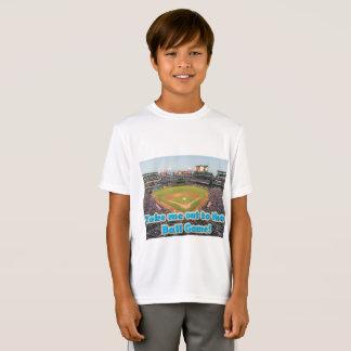 Camiseta Lléveme hacia fuera al juego de pelota