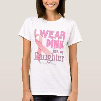 Camiseta Llevo el rosa para mi conciencia T del cáncer de