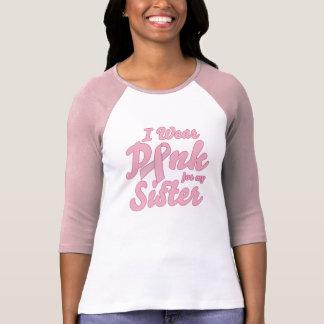 Camiseta Llevo el rosa para mi hermana
