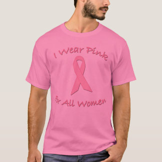 Camiseta Llevo el rosa para todos los productos de las