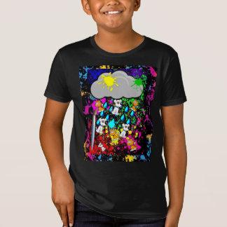 Camiseta ¡Llover a cántaros! Edición fresca de la pintura