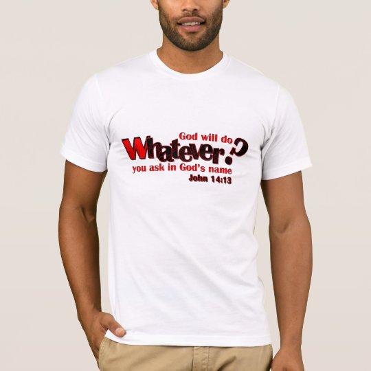Camiseta Lo que