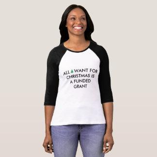 Camiseta Lo único que quiero para el navidad es una