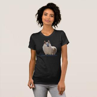 Camiseta Lobo ártico de la nieve