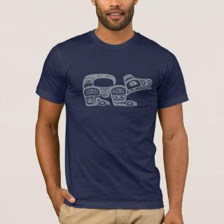 Camiseta Lobo del noroeste del nativo americano