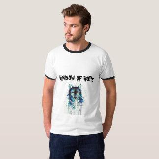 Camiseta lobo galáctico - sombra de la esperanza