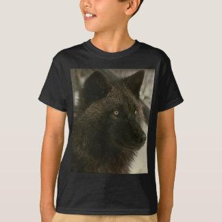 Camiseta Lobo negro