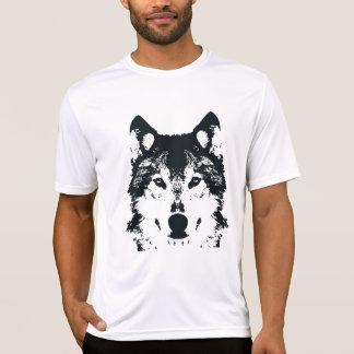 Camiseta Lobo negro del ilustracion
