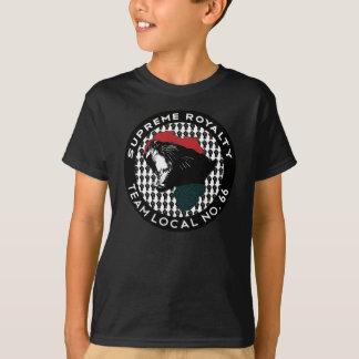 Camiseta Local supremo del negro de los derechos 66'