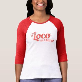 Camiseta Loco en señora Boss de Chargo