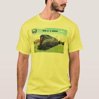 Camiseta Locomotora GG-1 #4800 -2- del ferrocarril de