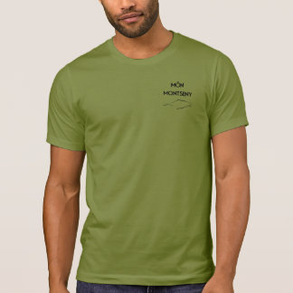 Camiseta Logo MonMontseny Verde
