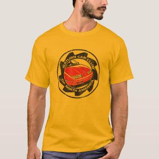 Camiseta logoed SCCNA apenada del oro
