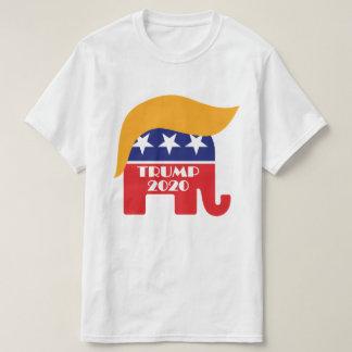 Camiseta Logotipo 2020 del pelo del elefante del GOP de
