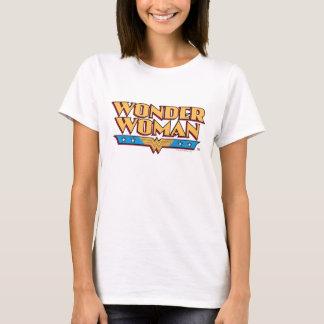 Camiseta Logotipo 2 de la Mujer Maravilla