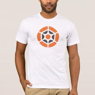 Camiseta Logotipo anaranjado del mono