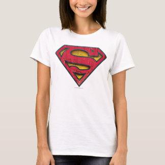 Camiseta Logotipo apenado el   del S-Escudo del superhombre