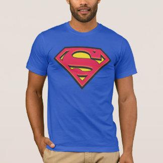 Camiseta Logotipo clásico del S-Escudo el   del superhombre