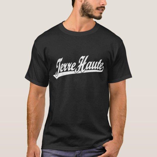 Camiseta Logotipo de la escritura de Terre Haute en el