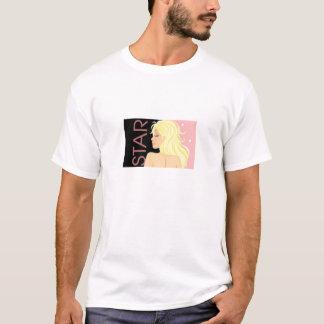 Camiseta Logotipo de las costuras de la ESTRELLA