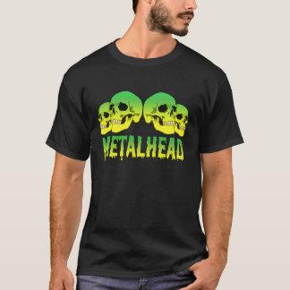 Camiseta Logotipo de los cráneos de MetalHead
