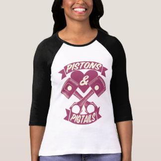 Camiseta Logotipo de los pistones y de las coletas