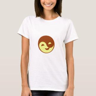 Camiseta Logotipo de risa de la ji del Tai