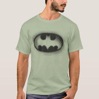Camiseta Logotipo de semitono del símbolo el   de Batman