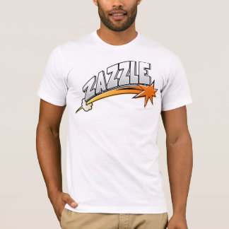Camiseta Logotipo de Zazzle (estilo del dibujo animado)
