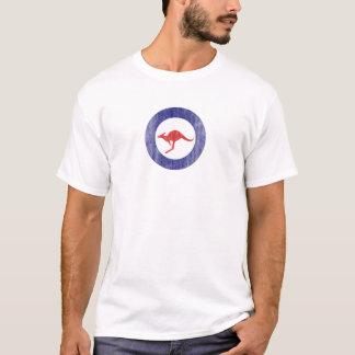 Camiseta Logotipo del aeroplano del canguro de Australia