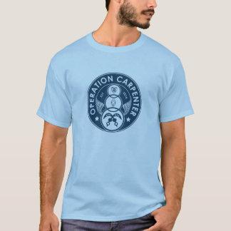 Camiseta Logotipo del carpintero de la operación - hombres