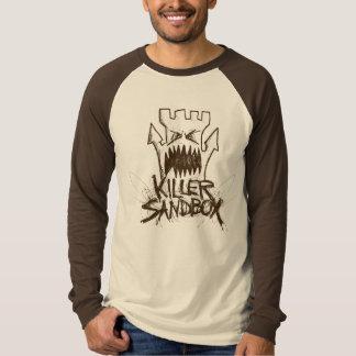 Camiseta Logotipo del dibujo lineal de KillerSandBox