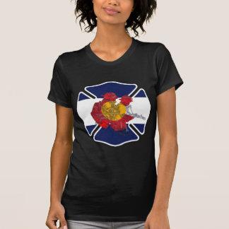 Camiseta Logotipo del entrenamiento del fuego de Colorado