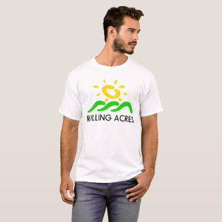 Camiseta Logotipo del final de los acres del balanceo