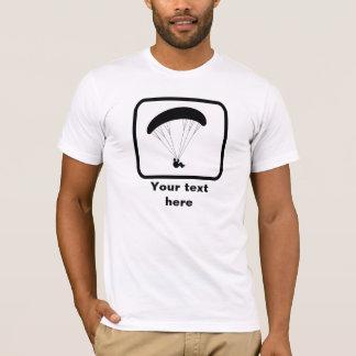 Camiseta Logotipo del Paragliding -- Personalice esto