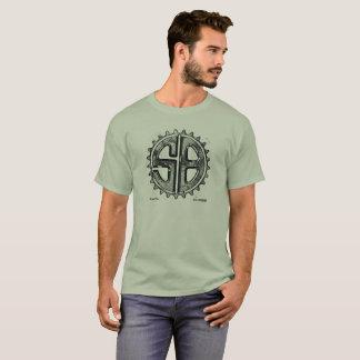 Camiseta Logotipo del piñón del lápiz del pixel de
