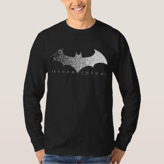 Camiseta Logotipo del pixel del caballero de Batman Arkham