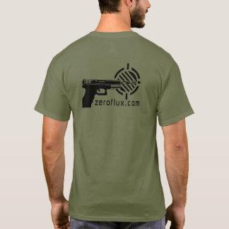 Camiseta Logotipo del tiroteo de la acción de Zeroflux