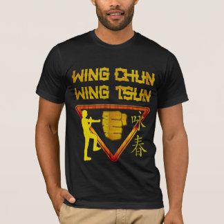 Camiseta Logotipo del triángulo de Tsun del ala de Chun del