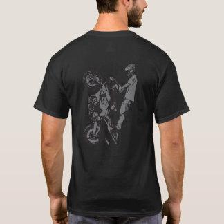 Camiseta logotipo del Wheelie de UpOnOne.com
