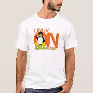 Camiseta Logotipo grande de LinuxonAndroid