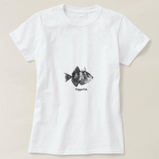 Camiseta Logotipo gris del Triggerfish