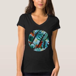 Camiseta Logotipo hawaiano de los bienes raices de Rosa del