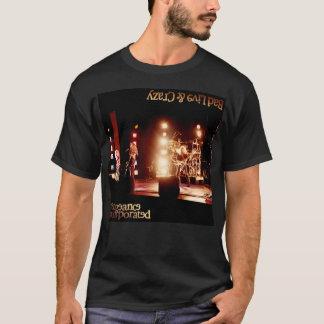 Camiseta Logotipo loco vivo incorporado venganza del malo
