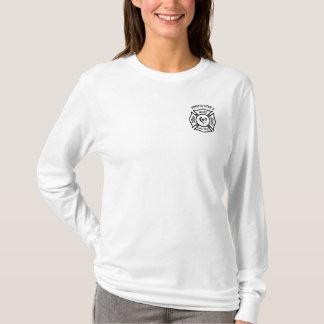 Camiseta Logotipo maltés de la esposa de un bombero