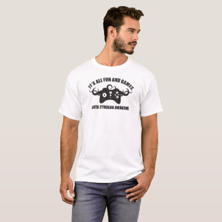 Camiseta Logotipo negro de Cthulhu del videojugador