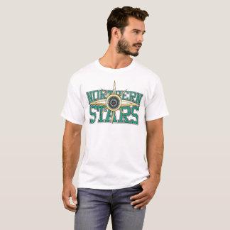 Camiseta + Logotipo septentrional de las estrellas