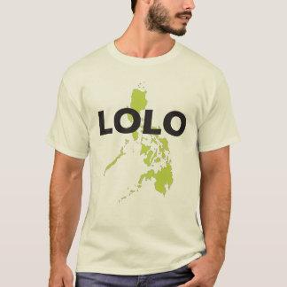 Camiseta Lolo sobre el mapa de Filipinas
