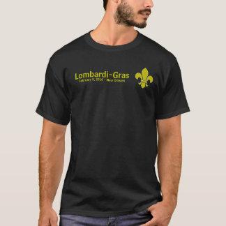 Camiseta Lombardi lis, Lombardi-Gras, el 9 de febrero de